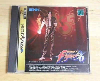 The King Of Fighters 96 Sega Saturn - http://video-games.goshoppins.com/video-gaming-merchandise/the-king-of-fighters-96-sega-saturn/