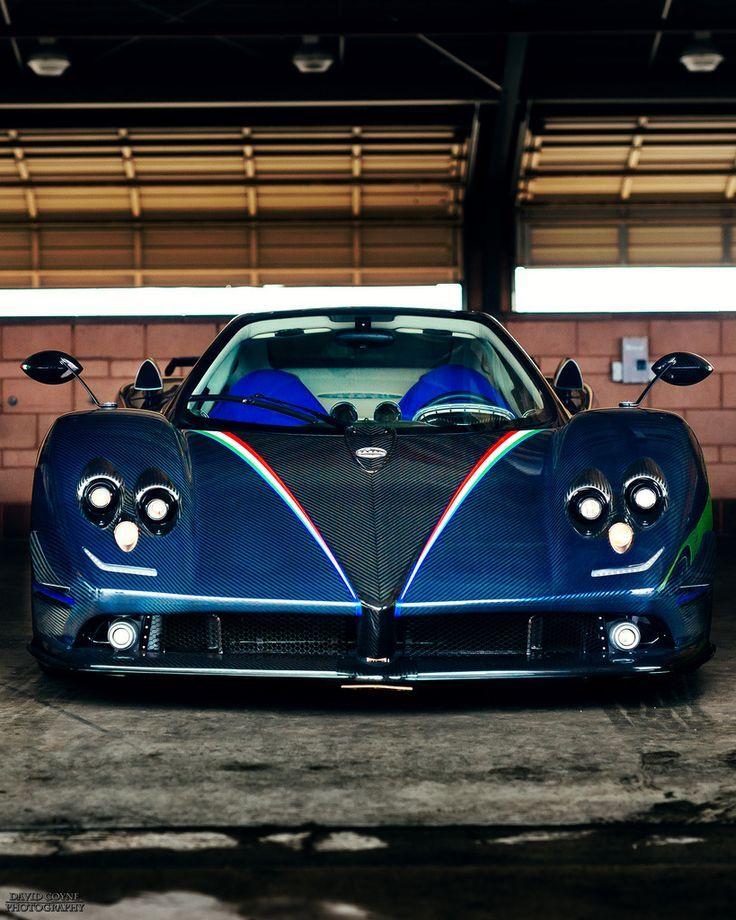 Pagani Zonda Tricolore Supercars Super Cars Pagani Zonda Sport Cars