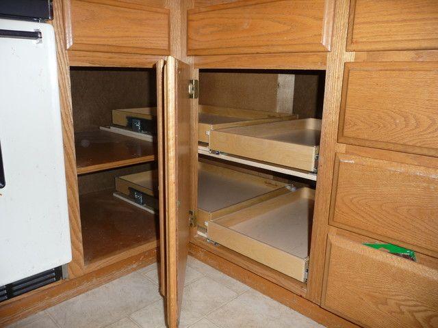 19 best corner cabinet ideas images on Pinterest | Kitchen storage ...
