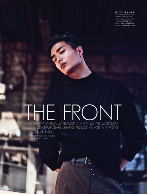 Park Sung JIn for Fashionisto