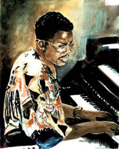 Herbie Hancock Jazz Music Piano Art Print Poster Poster