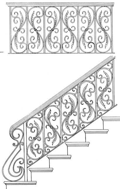 Railing Designs ISR004