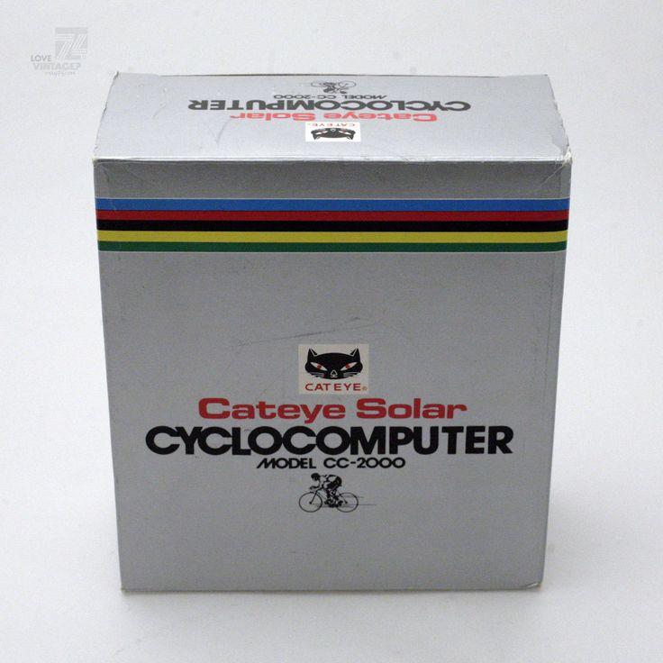 Vintage CATEYE Solar Cyclocomputer CC-2000 MIB OVP NOS Fahrradcomputer Bicycle in Sport, Radsport, Fahrradzubehör | eBay!