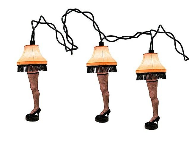 Leg lamp string lights from Christmas Story Find here