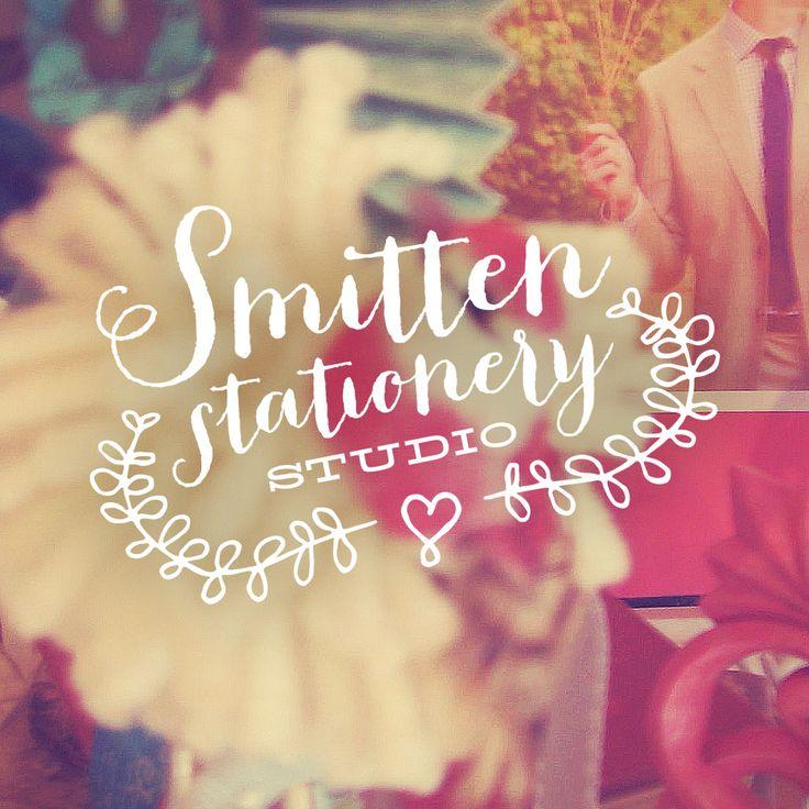 Rebanded Smitten Stationery Studio logo