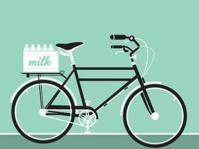 Simple bicycle illustration - photo#18