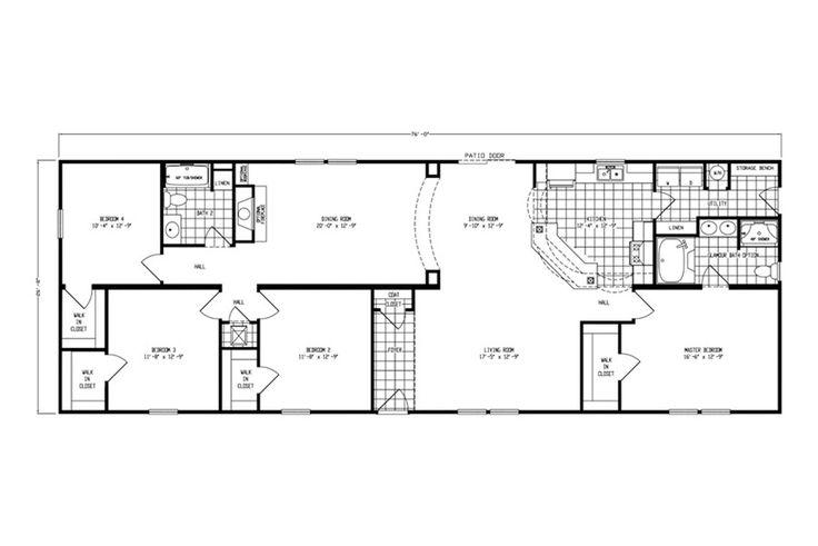 150 Best Floor Plans Images On Pinterest Oakwood Homes