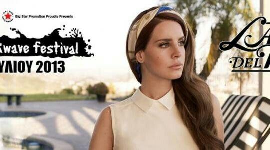Lana del  rey  JULY 2013