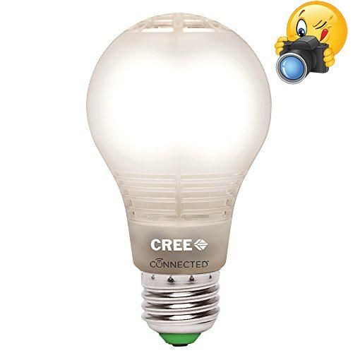 #wow The #Cree connected LED bulb looks and lights even more like a light bulb and can be controlled from anywhere. It is an easy-to-use and cost-effective way t...