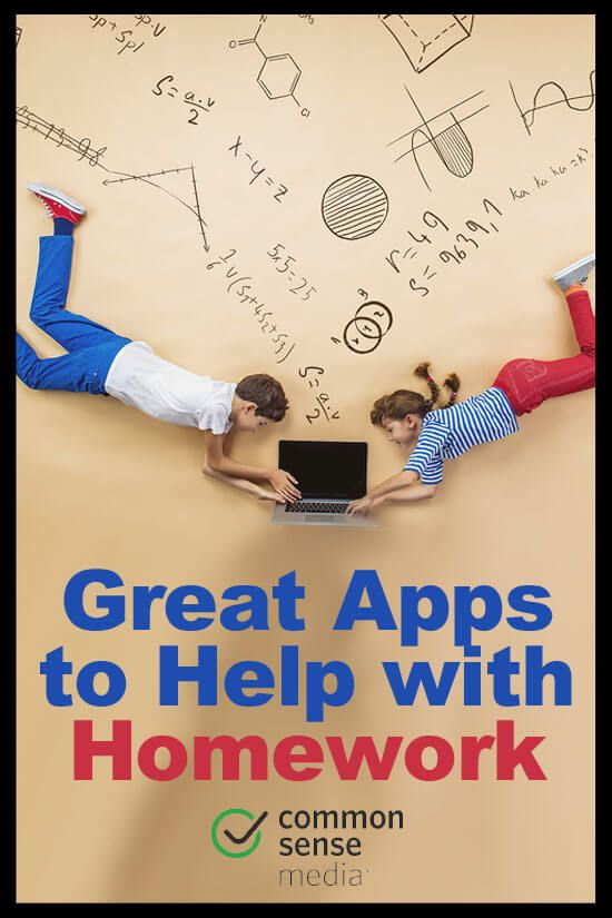 Great Apps to Help with Homework