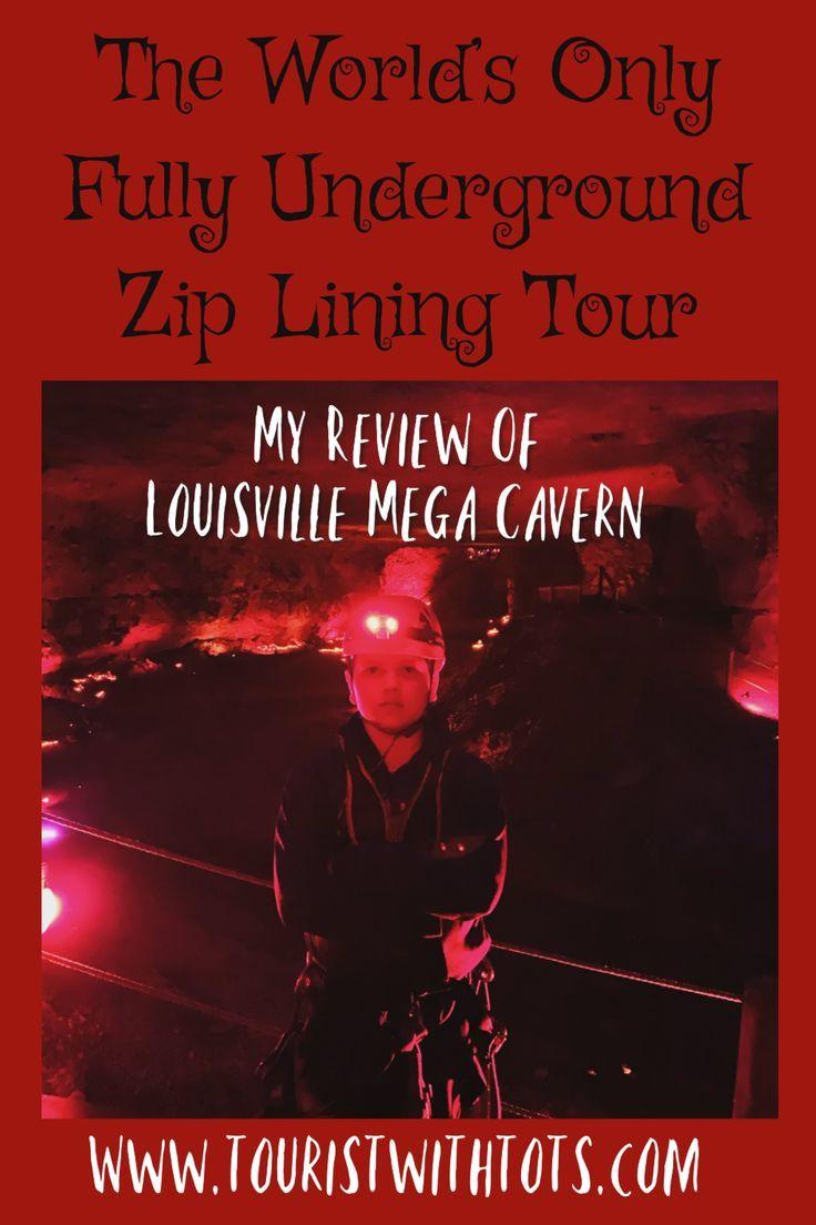 The World S Only Underground Zip Line Is Located In Louisville Kentucky At The Louisville Mega Caverns I Would H Ziplining Louisville Mega Cavern Underground