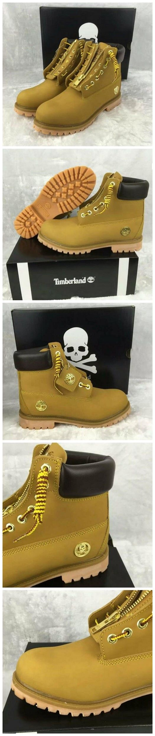 Timberland Authentic 6 Inch Boot - Wheat and Black For Men with Zipper ,timberland shoes christmas gifts,New Timberland Boots 2017,timberland boots waterproof,timberland boots style,timberland boots classics