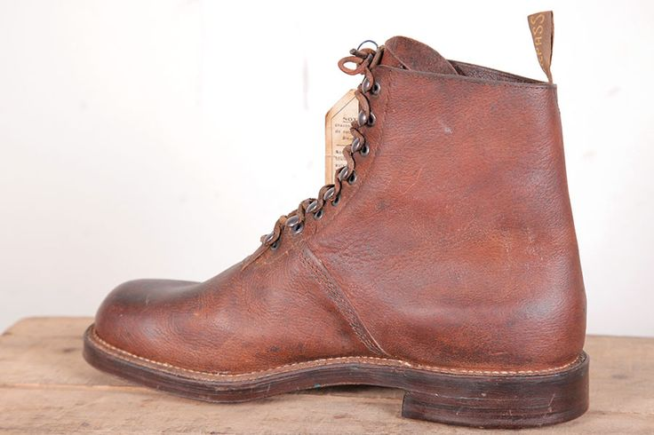 1930's French Shark Leather Boots