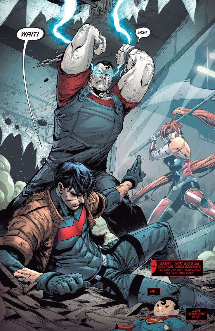 Bizarro's Angry in Red Hood and The Outlaws #4