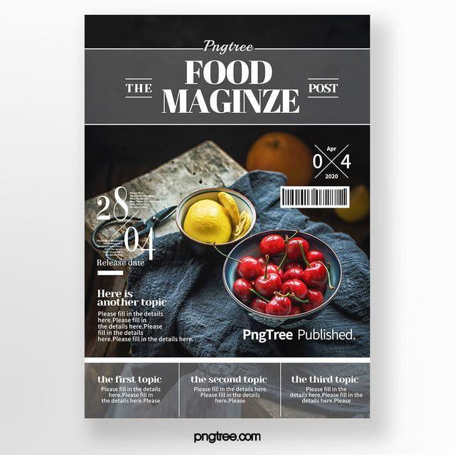 Creative Exquisite Frosted Transparent Sense Line Level Fashion High End Gourmet Magazine Cover In 2020 Food Magazines Cover Menu Cover Design Food Magazine