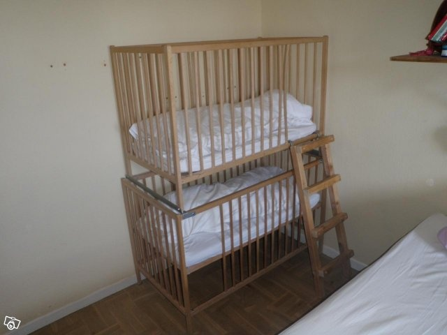 double decker crib weird not wonderful pinterest