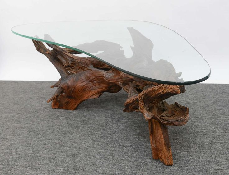 Vintage Wine Tree Coffee Table | From a unique collection of antique and modern coffee and cocktail tables at https://www.1stdibs.com/furniture/tables/coffee-tables-cocktail-tables/