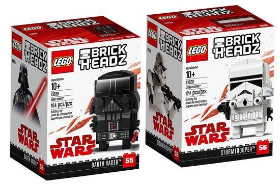 LEGO 41619 Star Wars Darth Vader Brickheadz  Brand new sealed
