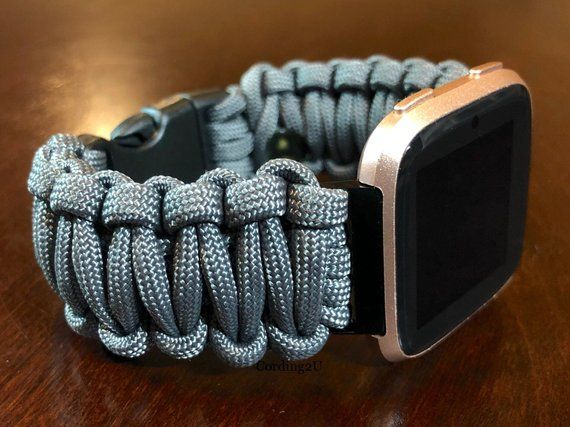 Fitbit Versa 1 2 Lite Paracord Watch Band 550paracord Fitbit