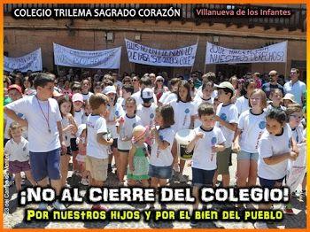 Piden a Junta 'trabajar' para mantener abierto el colegio concertado de Infantes. (Fuente: clm24.es/EFE)