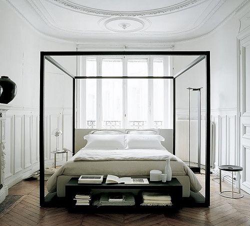 modernestil: Ei himmelsk seng: