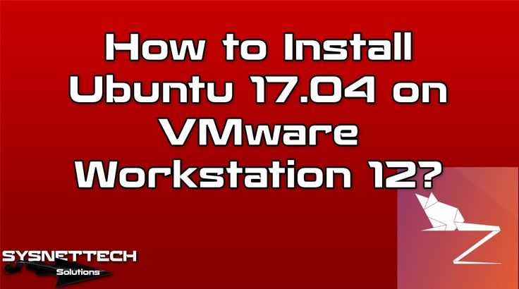 █ How to Install Ubuntu 17.04 on VMware Workstation 12? | SYSNETTECH Solutions ───────────────────────────────────────── █ Watch the Video ► https://www.youtube.com/watch?v=awVjZOGGR0w ───────────────────────────────────────── #Ubuntu #VMware #VMwareWorkstation #VM #VirtualMachine #VirtualComputer #VirtualPC #PC #Computer #IT #System #Network #UbuntuInstallation #InstallUbuntu #Ubuntu1704 #Ubuntu #ZestyZapus #UbuntuZestyZapus