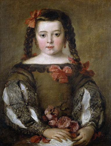 Retrato de niña, Jose Claudio Antolinez, 1660