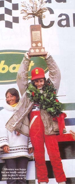Gilles Villeneuve the 1st win ! Montreal 1978