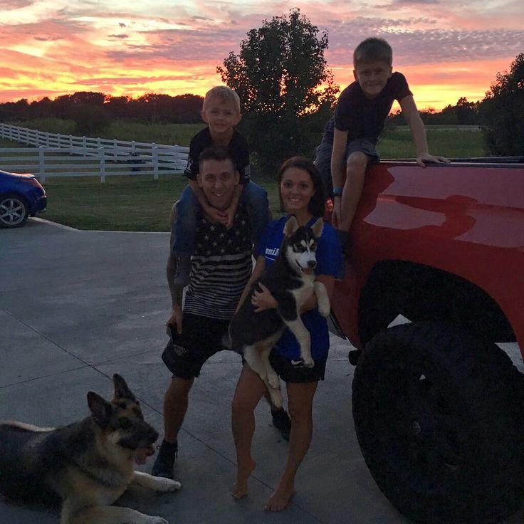 Beautiful family with beautiful Ohio