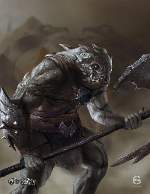 Slithe (Reptilio) / Thundercats Reimaginedby EdgarGomezArt
