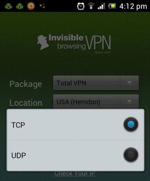 Our Android VPN Client, version 1.1, is now available for download in Google Play. For the new version, we added UDP as an additional connection protocol, beside TCP.
