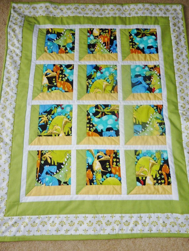 17 Best Images About Dinosaur Quilts On Pinterest