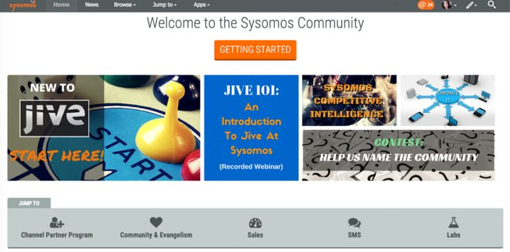 Sysomos uses Jive internal platform to engage and align disperse employees | simply communicate