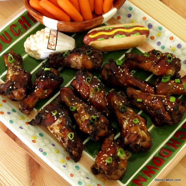 ... Chicken Recipes, Baked Chicken Wings, Mahogany Chicken Wings, Yummy