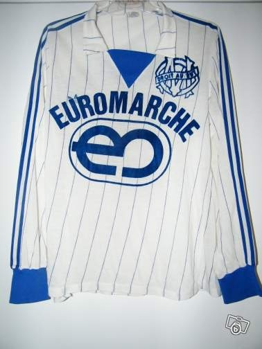 Maillot om marseille match worn vintage Sports