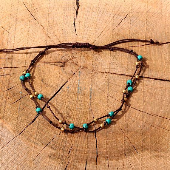 Beaded Anklet Bracelet-Jewellery For Foot-Ankle Jewelry-Foot Bracelet-Beach Anklets-Gypsy Jewelry-Boho Tribal Bohemian Anklets-Gypsy Anklets by Trinketmart on Etsy