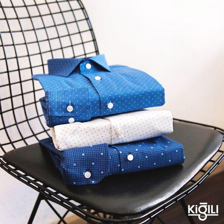 Dinamik bir stili yansıtan mikro desenli gömlekler, haftaya #enerjik ve #motive şekilde başlamanıza yardımcı oluyor.
