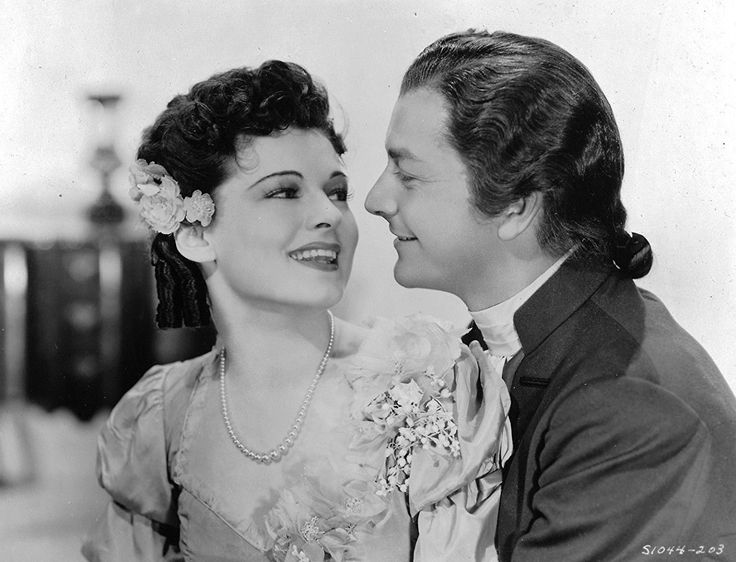 Robert Young and Ruth Hussey in 'Northwest Passage'