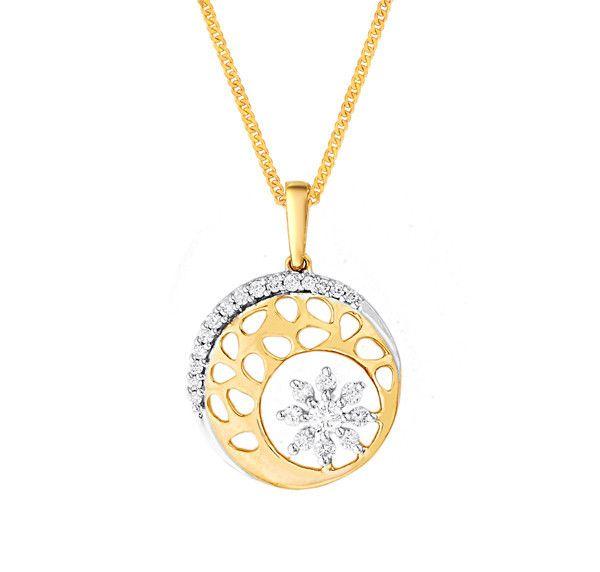 Katrina's Favourite - Nakshatra Diamond Pendant NPC700VS-GH-K