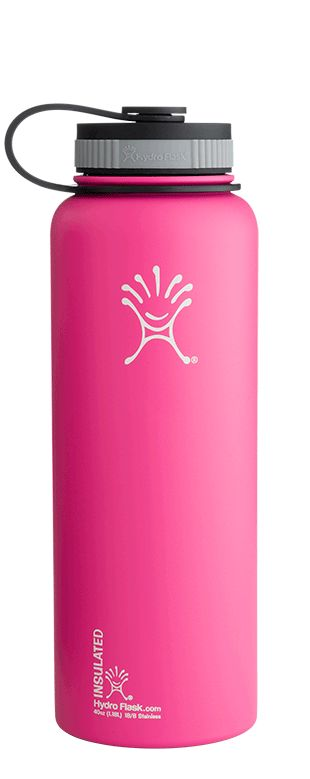 Hydro Flask | Hydro Flask - Insulated Stainless Steel Water Bottle - 40 oz (Large) - Wide Mouth.