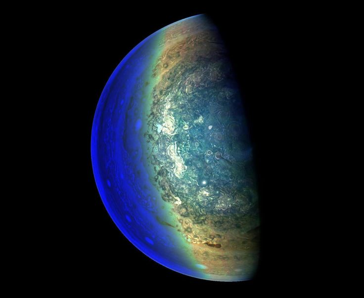 Júpiter (Foto: NASA/JPL-Caltech/SwRI/MSSS/Gerald Eichstadt/ Divulgação)