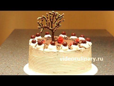 Рецепт - Торт Черный лес от http://videoculinary.ru