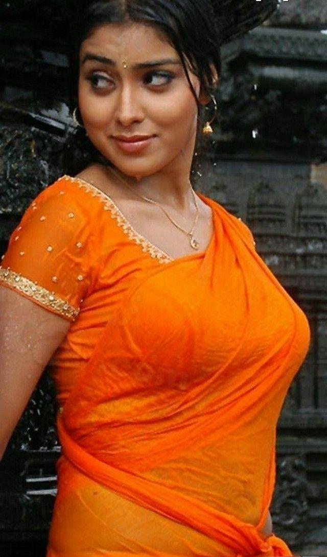 Hot Wet Shriya Boobs In Saree