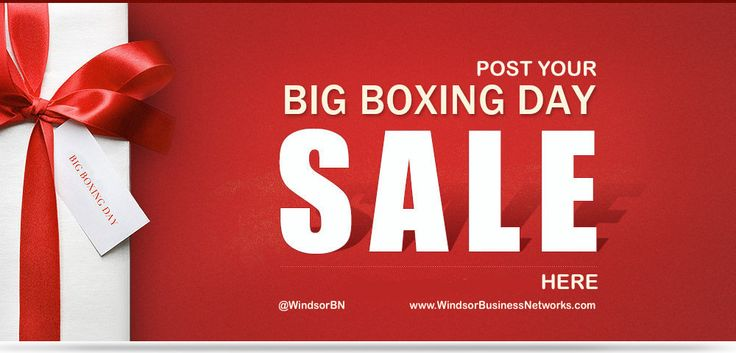 Boxing Day 2014.  Where the sales are at