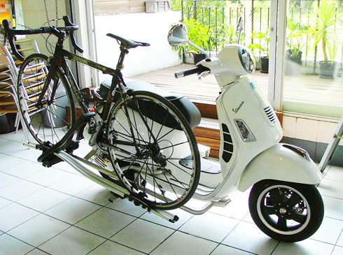 The Vespa Bike Rack – All The Rage For The 2013 Argus Cycle Tour | 2oceansvibe.com