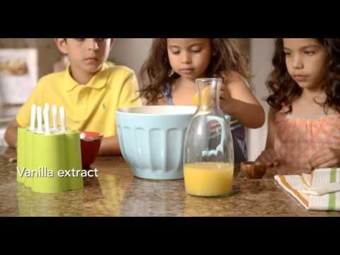 Homemade Orange Juice Popsicle Recipe | FDOC