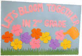 Image result for grade 9 classroom best flower decoration