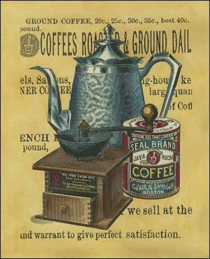 Small Coffee Grounds (Art Print)