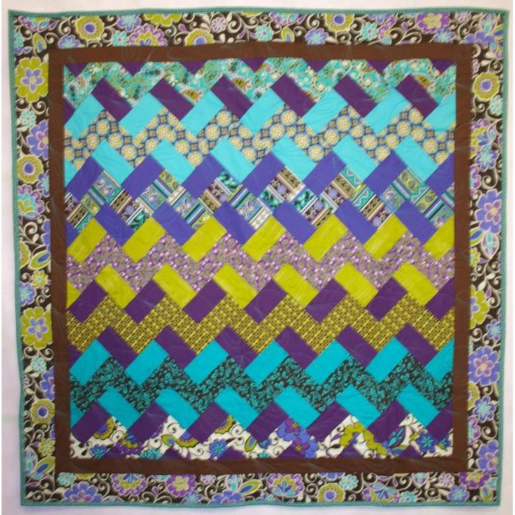 Love this Chevron Quilt by FrankensteinsFabric for $120