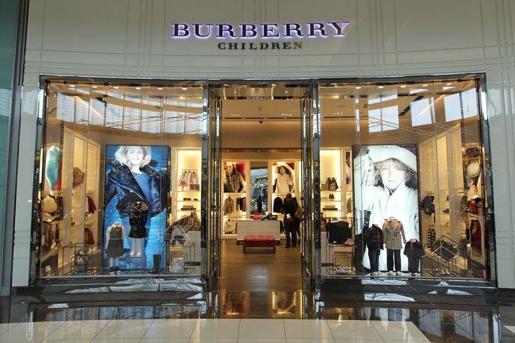 Burberry Children Dubai Mall Kids Store Window